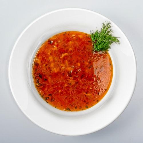 Garnelen-Krabben-Suppe