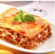 Lasagne met gehakt en groente